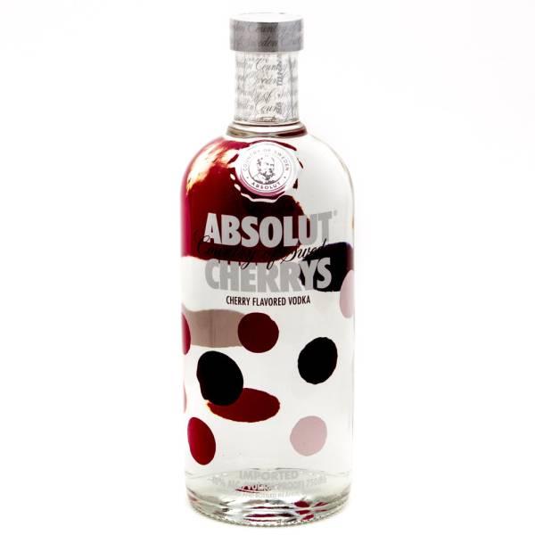 Absolut - Cherrys Vodka - 750ml
