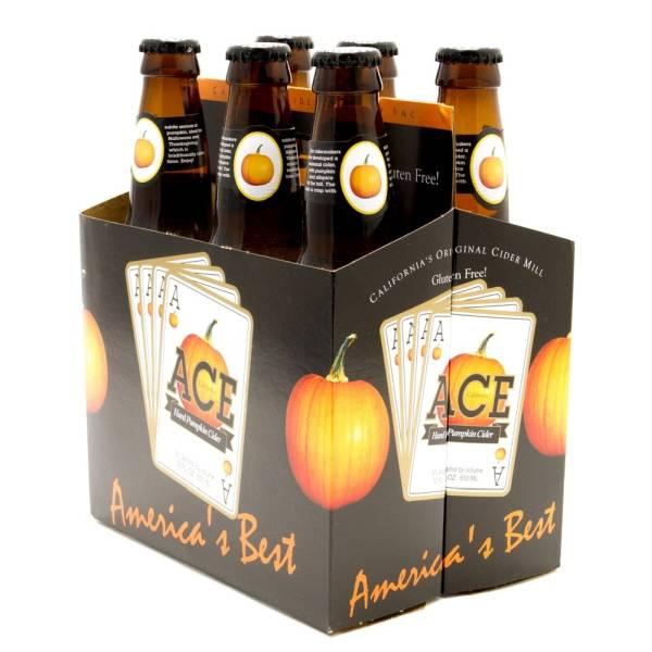 ACE - Hard Pumpkin Cider - 12oz Bottle - 6 Pack