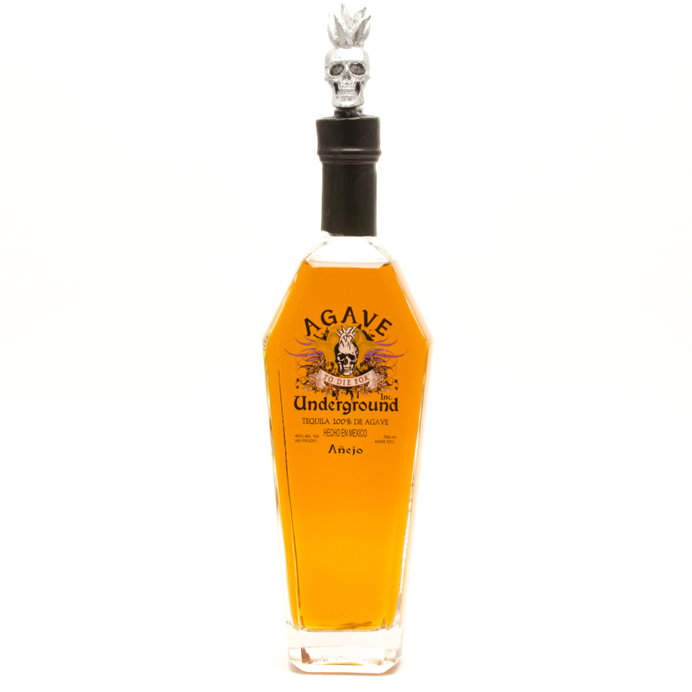 Agave Underground - Anejo Tequila - 750ml