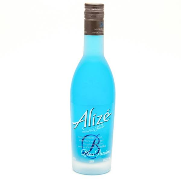 Alize Blue Passion Liqueur 375ml Beer Wine And