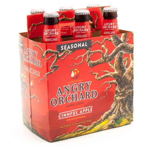 Angry Orchard - Cinnful Apple Hard Cider - 12oz - 6 Pack