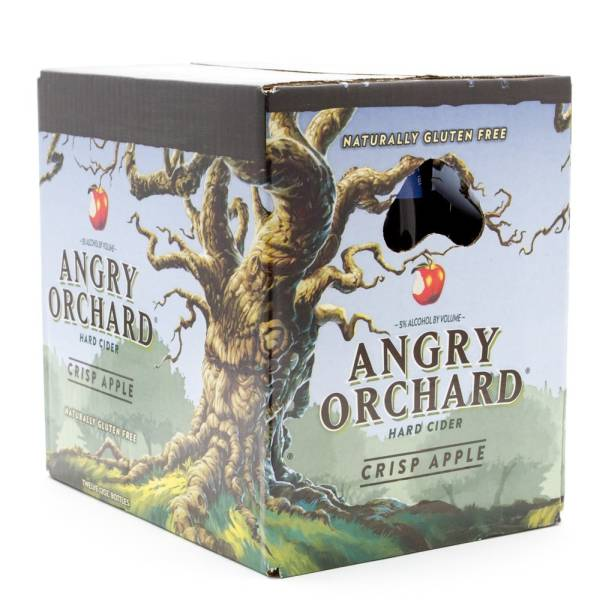 Angry Orchard Crisp Apple Hard Cider 12oz Bottle
