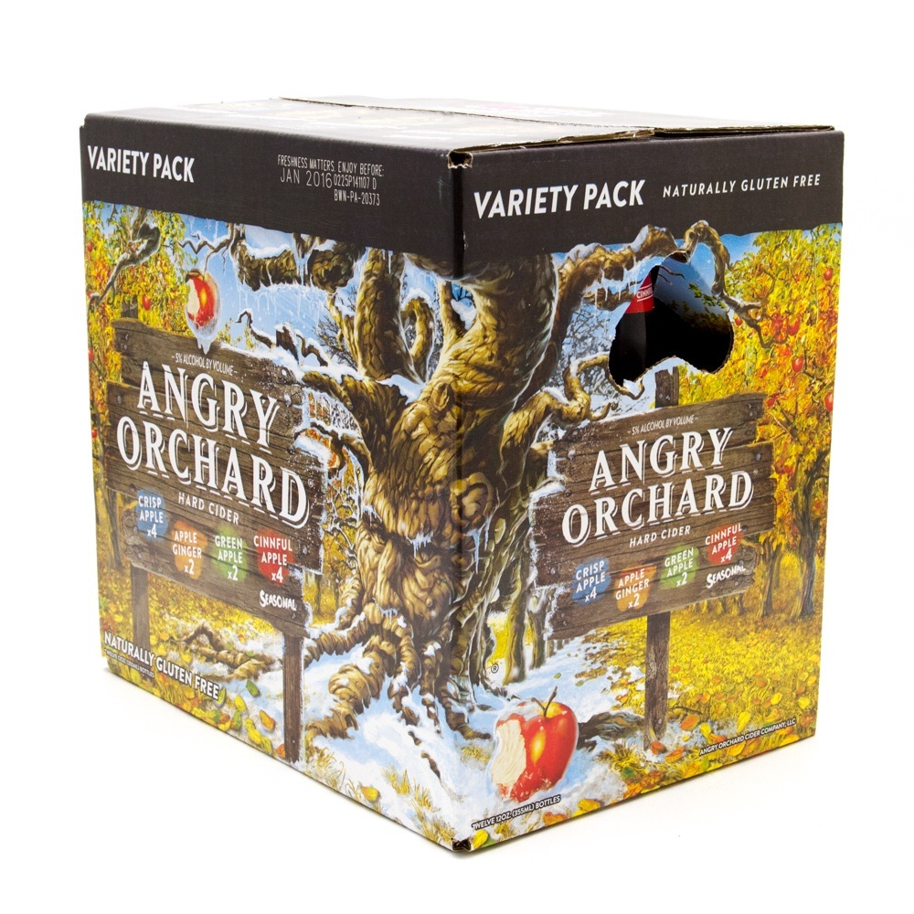 Angry Orchard - Hard Cider - 12oz Bottle - 12 Pack Variety