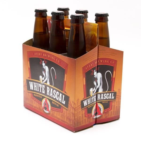 Avery - White Rascal Belgian-Style White Ale - 12oz Bottles - 6 pack