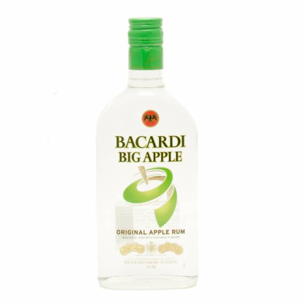 Bacardi - Big Apple - Apple Rum - 375ml