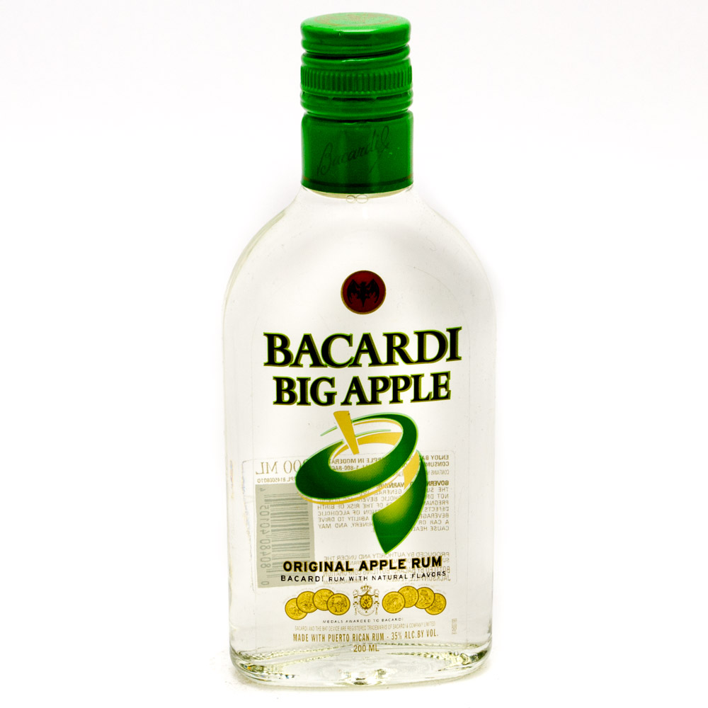 Bacardi - Big Apple Rum - 200ml
