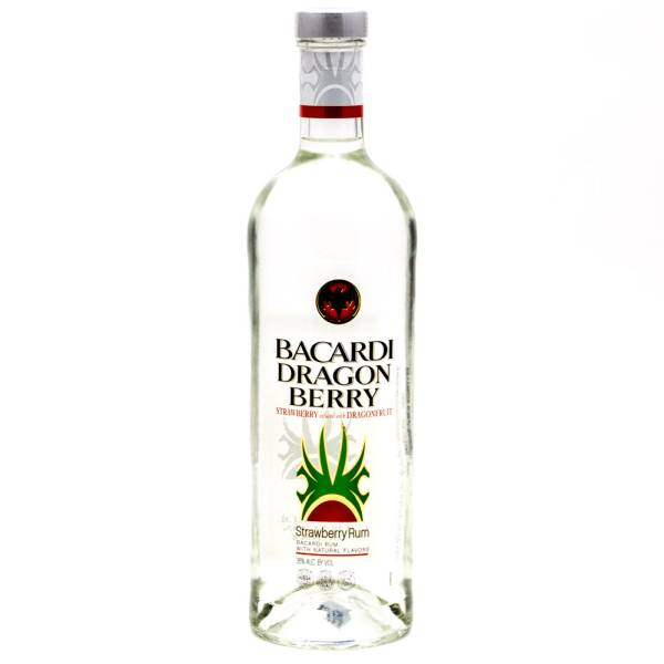 Bacardi - Dragon Berry Rum - 750ml