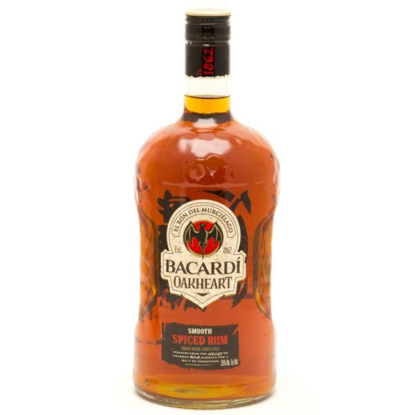 Bacardi - Oakheart Smooth Spiced Rum - 1.75L