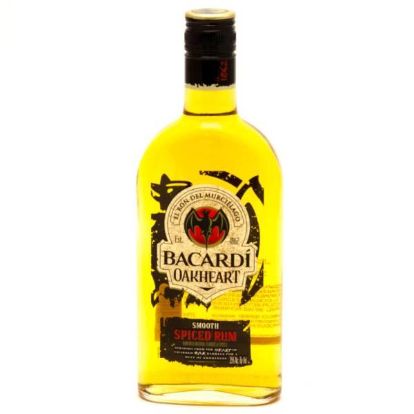 Bacardi - Oakheart Smooth Spiced Rum - 375ml