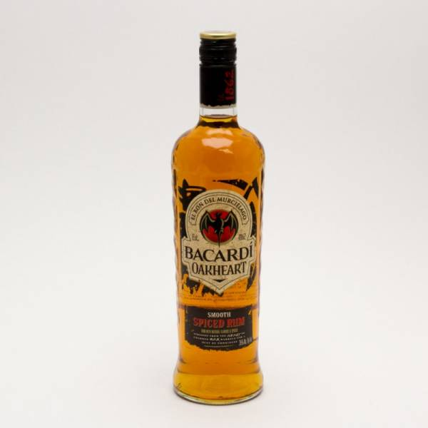 Bacardi - Oakheart Smooth Spiced Rum - 750ml