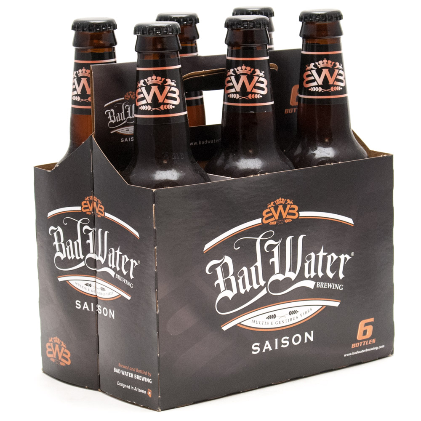 Bad Water - Saison - 12oz Bottle - 6 Pack