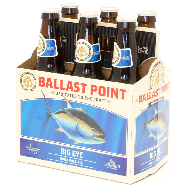 Ballast Point - Big Eye India Pale Ale - 12oz Bottle - 6 Pack