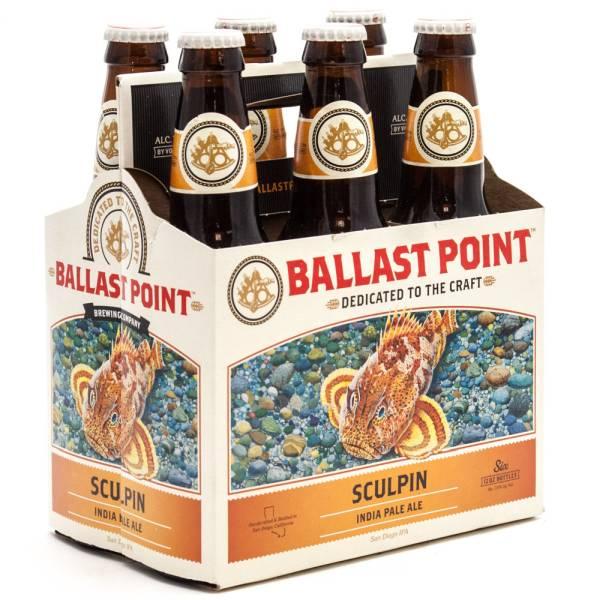 Ballast Point - Sculpin IPA - 12oz Bottles - 6 pack