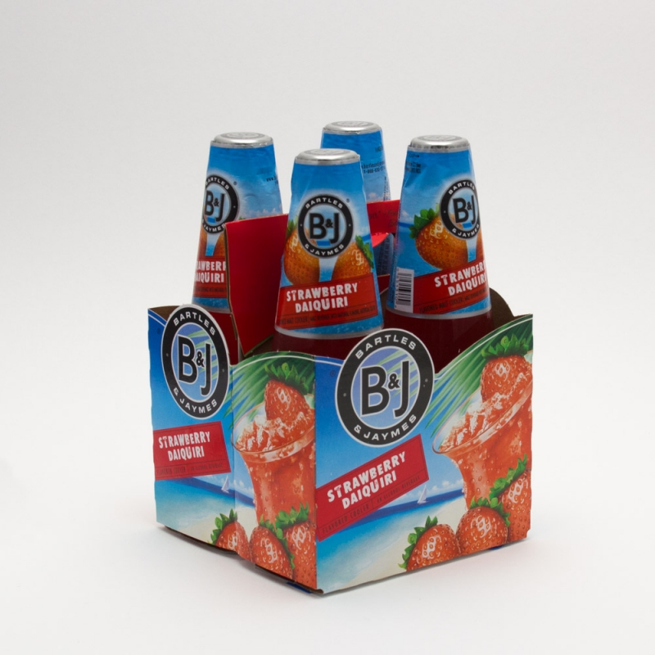 Bartles & Jaymes - Strawberry Daiquiri- 11.2oz Bottle - 4 Pack