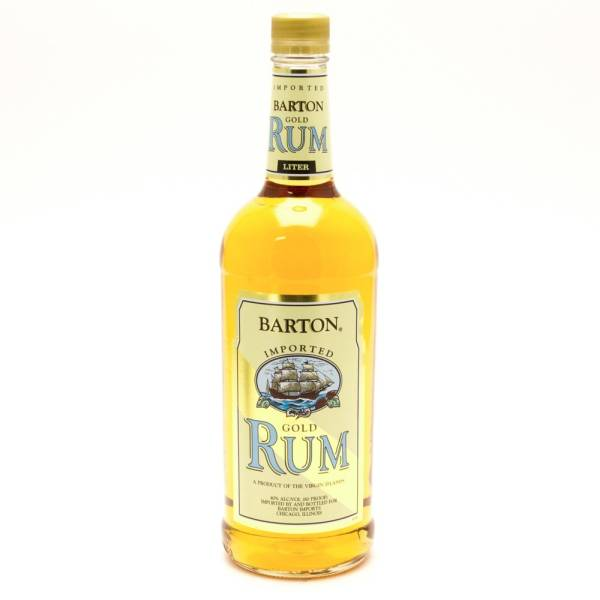 Barton - Gold Rum - 750ml
