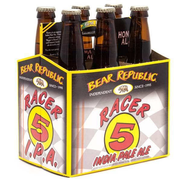 Bear Republic - Race 5 IPA - 12oz Bottle - 6 Pack