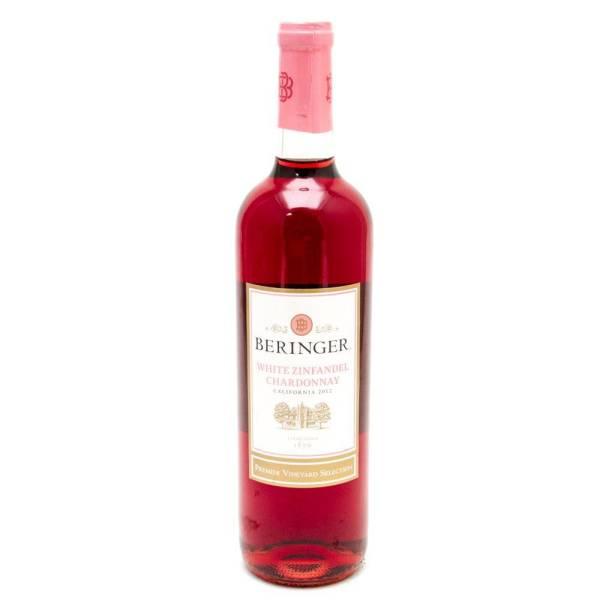 Beringer - White Zinfandel Chardonnay California 2012 - 750ml