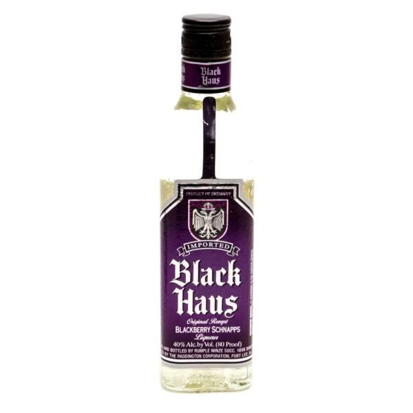 Black Haus - Blackberry Schnapps Liquer - 375ml