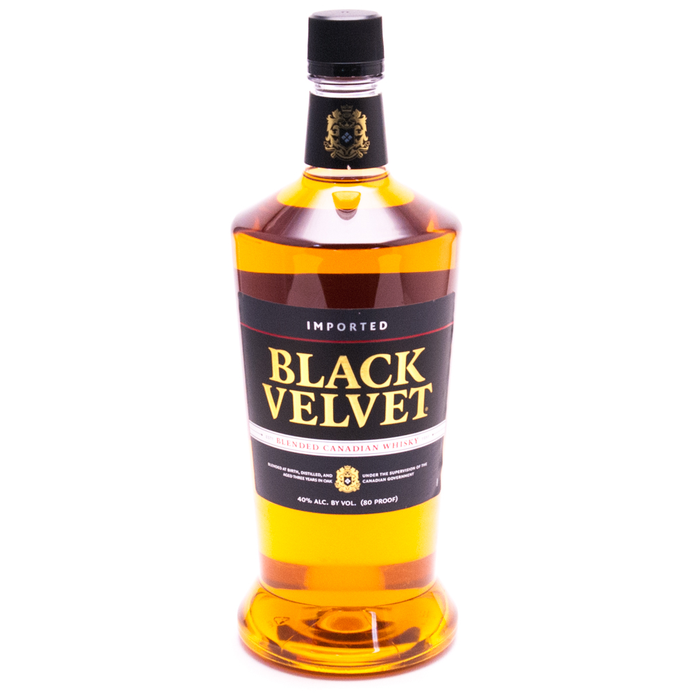 Black Velvet - Blended Canadian Whisky - 1.75L