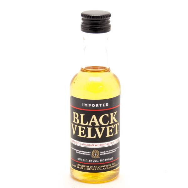Black Velvet - Blended Canadian Whisky - Mini 50ml