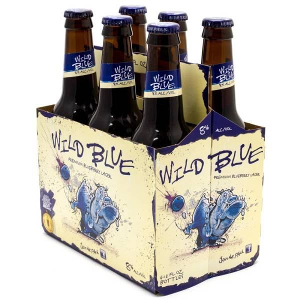 Blue Dawg - Wild Blue Lager - 12oz Bottles - 6 pack