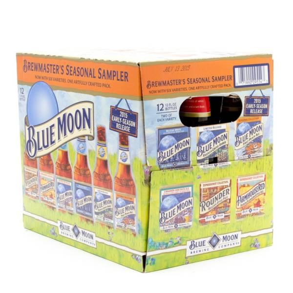 Blue Moon - Brewmaster's Seasonal Sampler - 12oz - 12 Pack Bottles