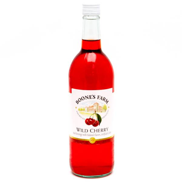 Boones Farm - Wild Cherry Malt Beverage - 750ml