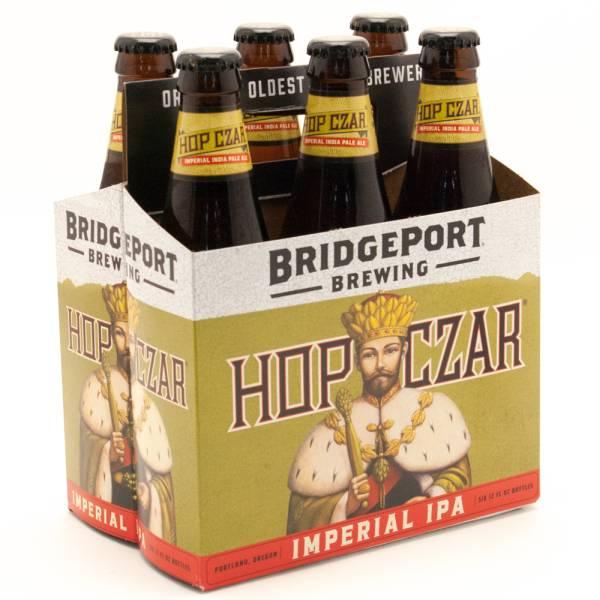 Bridge Port - Hop Czar Imperial IPA - 12oz Bottle - 6 Pack