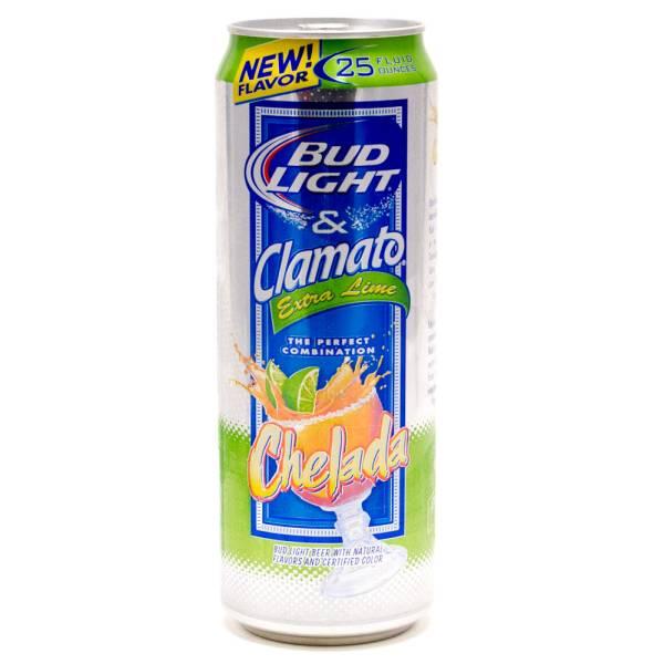 Bud Light & Clamato - Chelada Extra Lime - 25oz Can