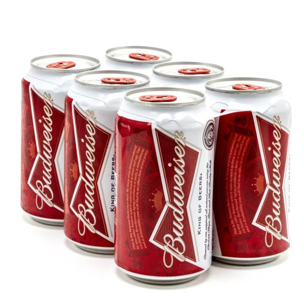 Budweiser - Beer - 12oz Can - 6 Pack