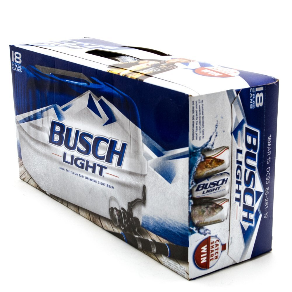Busch Light - Beer - 12oz Can - 18 Pack