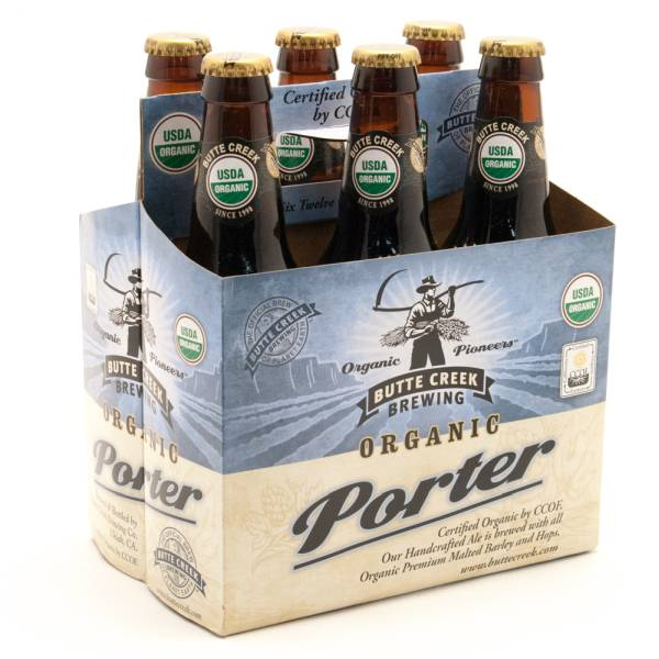 Butte Creek - Organic Porter - 12oz Bottle - 6 Pack