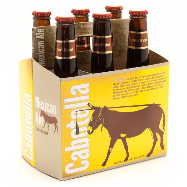 Cabotella - Mexican Ale - 11.16oz Bottle - 6 Pack