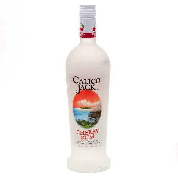 Calico Jack - Cherry Rum - 750ml