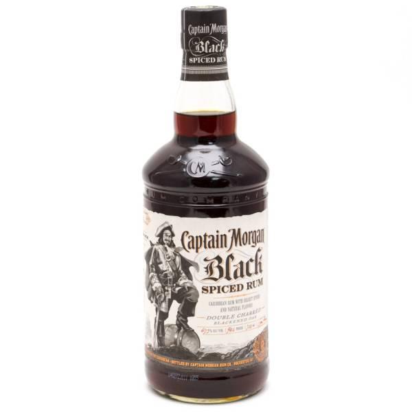 Captain Morgan - Black Spiced Rum - 750ml