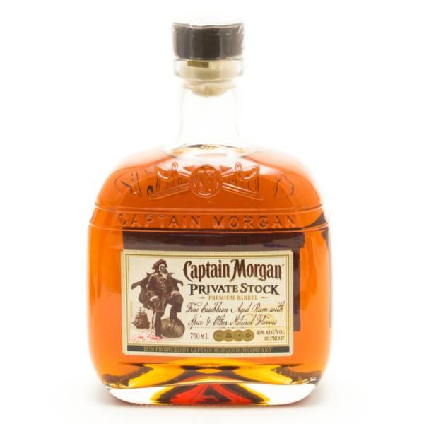 Captin Morgan - Private Stock - Premium Barrel Rum - 750ml