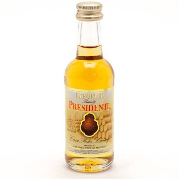 Casa Pedro Domecq - Presidente Imported Brandy - Mini 50ml