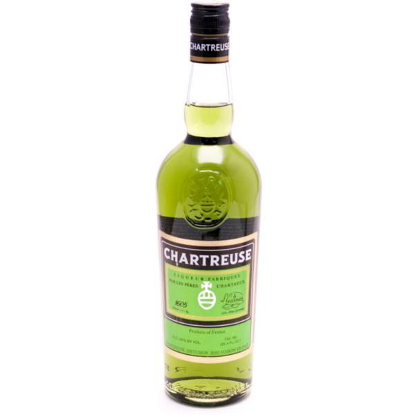 Chartreuse Liqueur - 55% Alc. - 750ml