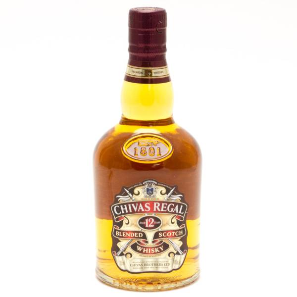 Chivas Regal - Aged 12 Years Blended Scotch Whiskey - 375ml