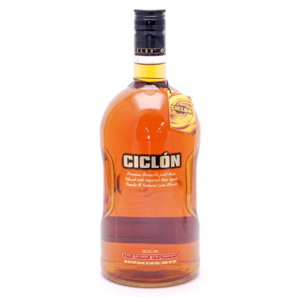 Ciclon Premium Bacardi - Rum infused w/Puerto Rican Rum, Tequila & Lime - 1.75L