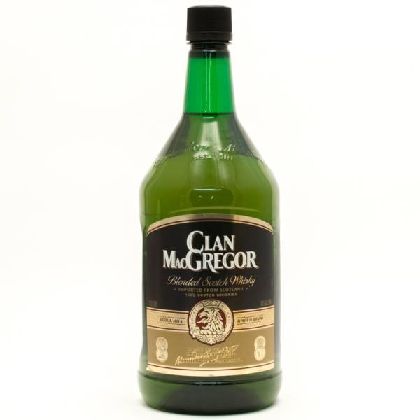 Clan Macgregor Blended Scotch Whisky 1 75l Beer