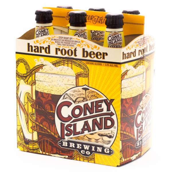 Coney Island - Hard Root Beer - 12oz Bottle - 6 Pack