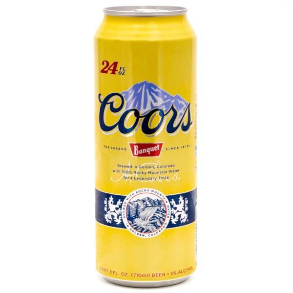 Coors - Banquet - 24oz Can