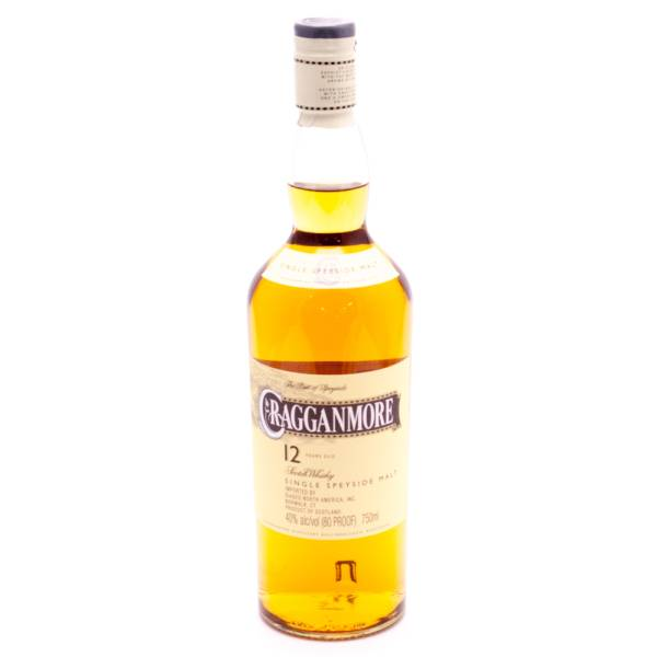 Cragganmore - Scotch Whisky 12yrs Old - 750ml