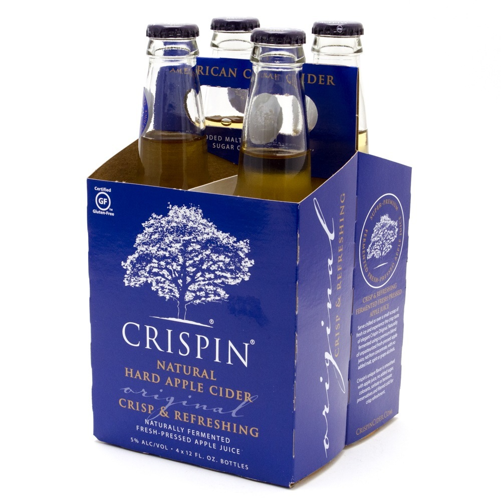 Crispin - Original Hard Apple Cider - 12oz Bottle - 4 Pack