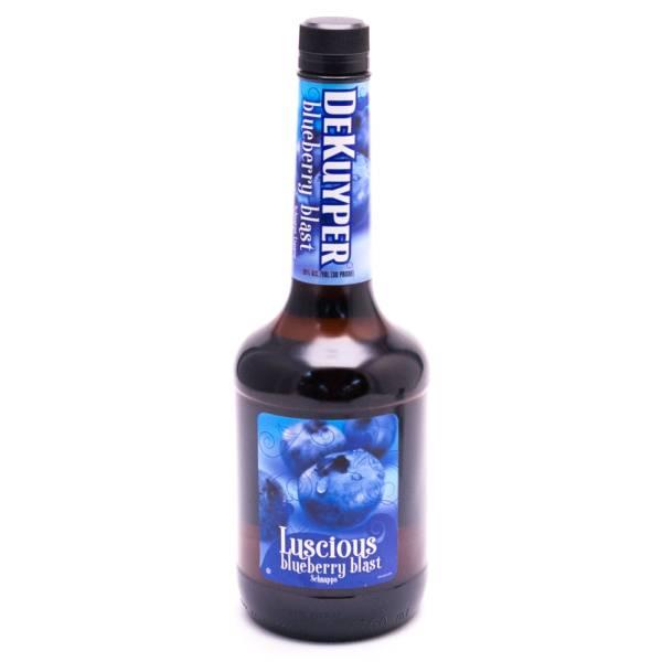Dekuyper - Luscious Blueberry Blast Schnapps - 30 Proof - 750ml