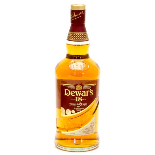 Dewar's - 18 Years Old Double Aged Blended Scotch Whisky - 750ml