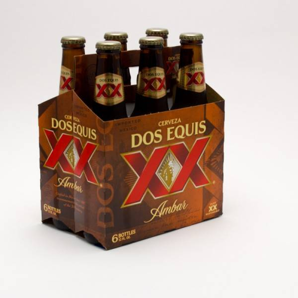 Dos Equis XX - Amber - 12oz Bottle - 6 Pack