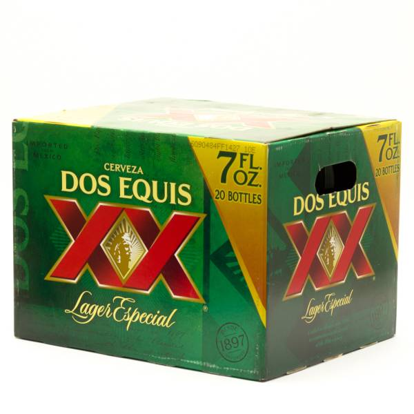 Dos Equis XX - Lager Especial - 7oz Bottle - 20 Pack