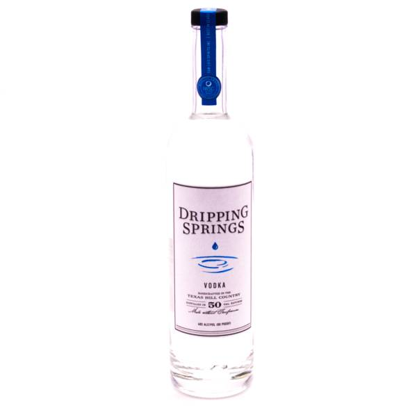 Dripping Springs - Distilled Vodka 80 Proof - 750ml